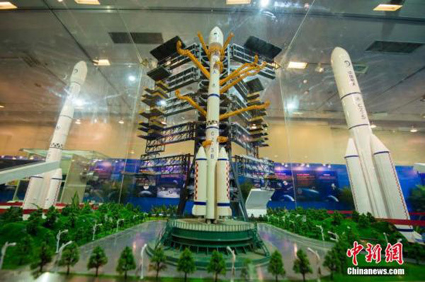 A model of China's Yutu moon rover [File Photo: Chinanews.com]