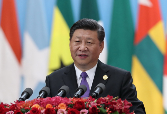 Chinese President Xi Jinping delivers a keynote speech at the opening ceremony of the 2018 Beijing Summit of the Forum on China-Africa Cooperation on September 3, 2018. [Photo: Xinhua]