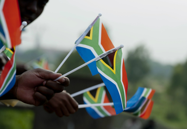 National flag of South Africa. [File Photo:IC]