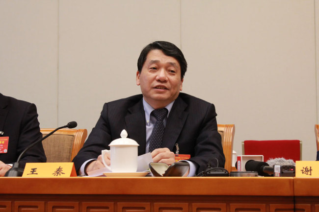Wang Qin, a legislator in the National People's Congress. He also works with the Jiangsu Provincial Bureau of Science and Technology. [Photo: China Plus]