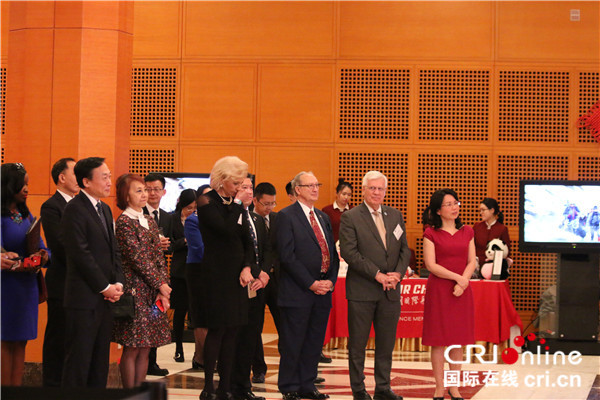 Chinese and U.S. guests at the celebration in Washington D.C., March 13, 2019. [Photo: China Plus/Liu Kun]