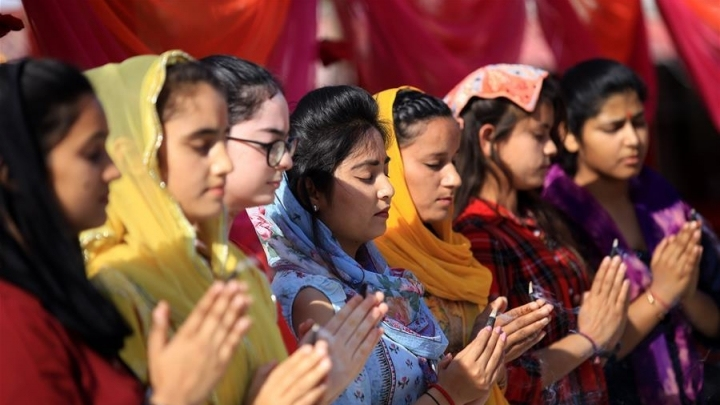Hindu festival of Navratri celebrated in Indian controlled Kashmir
