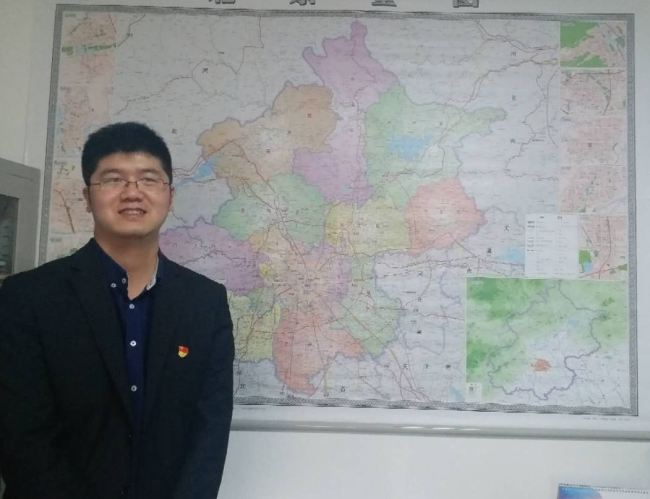 Wu Tianzhen is a director from the Transport Network with the company. [Photo: from China Plus]