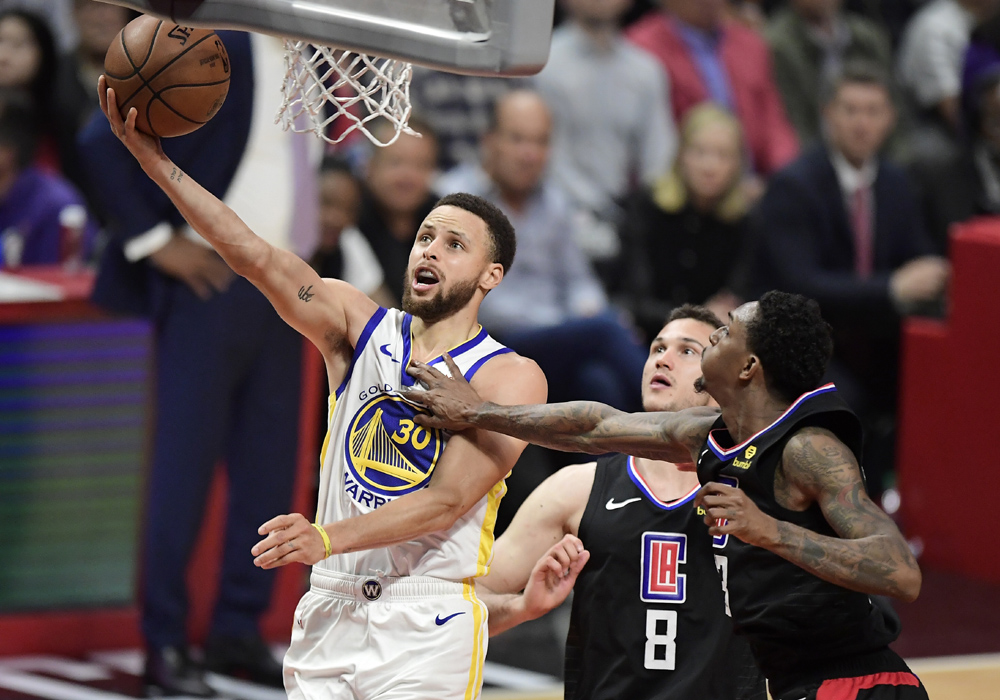 1ef162222fe4 Durant scores 50 points as Warriors eliminate Clippers in Game 6 ...