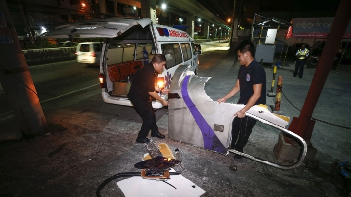 34 injured as 2 trains collide in Philippines