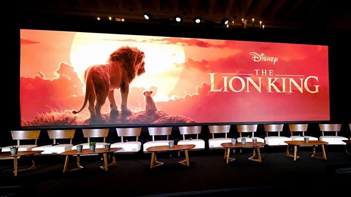 """New """"Lion King"""" leads Chinese mainland box office"""