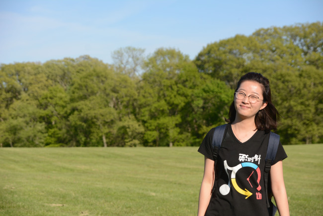 Chinese scholar Zhang Yingying, who disappeared on June 9, 2017, in Champaign, Illinois. [Photo: IC/the University of Illinois Police Department]