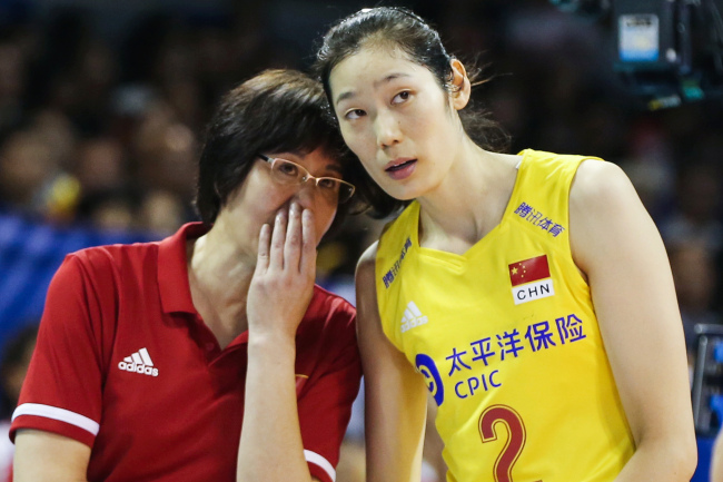 China's women's national volleyball team claimed the ticket to the 2020 Olympic Games after beating Turkey 3-0 on Sunday, August 4, 2019. [File Photo: VCG]