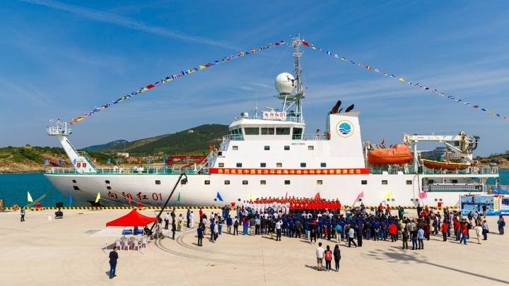 China's research ship departs for 10th Arctic expedition