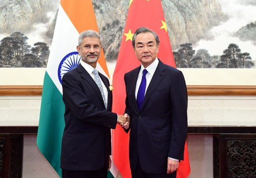 Chinese Foreign Minister Wang Yi meets with visiting Indian Minister of External Affairs Subrahmanyam Jaishankar in Beijing on Monday, August 12, 2019. [Photo: fmprc.gov.cn]