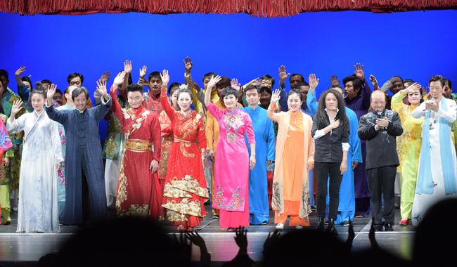 Aside from its extensive national tours, both productions of Impression and Rediscover Chinese were staged at the Kennedy Center and Carnegie Hall, in the US, in 2015. [Photo courtesy of CNTO]