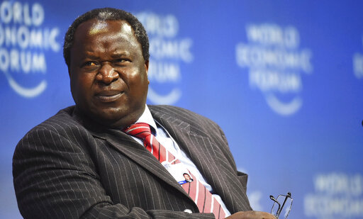 South Africa Finance Minister Tito Mboweni attends the World Economic Forum on Africa in Cape Town, South Africa, Thursday, Sept 5, 2019. Delegates attending the three-day summit that will tackle the issues faced by the continent by focusing on how to scale up the transformation of regional architecture related to smart institutions, investment, integration, industry and innovation.[Photo: AP]