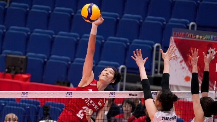 China triumph over South Korea 3-0 to start Women's V-ball World Cup campaign