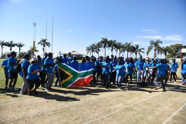 The 2018 UN All Africa Games was held in South Africa. [File Photo: Youth for Africa and SDGs twitter account]