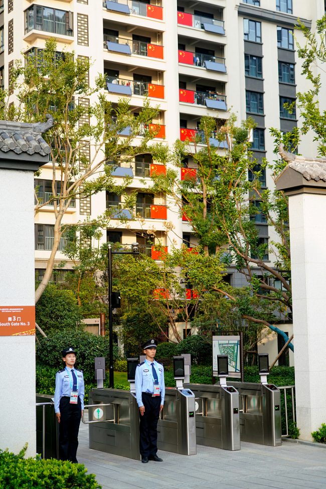 The athletes' village of the 7th Military World Games, Wuhan, Hubei Province, China, October 15, 2019. [Photo: VCG]