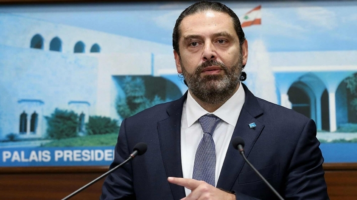 Lebanese PM announces resignation amid protests