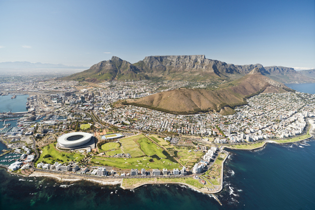 A panoramic view of Cape Town. [Photo: VCG]